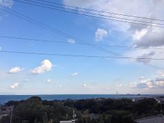 雲が消えてきた!