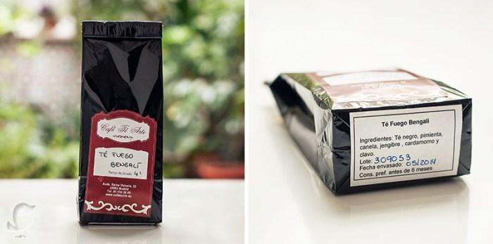 té fuego bangalí