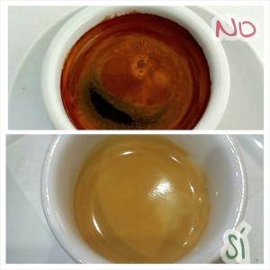 Comparación café