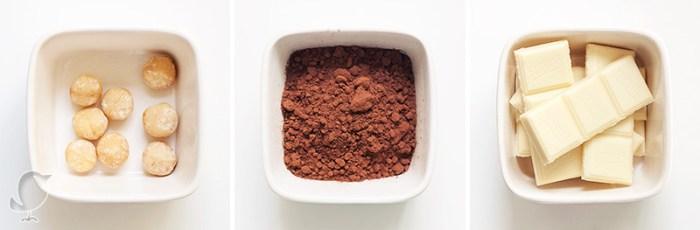Bizcocho de trufa: ingredientes