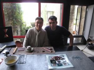 James Ho Tea Master Taiwanes especialista en los  age teas y Félix