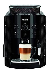 Cafetera superautomática Krups, cafe te arte