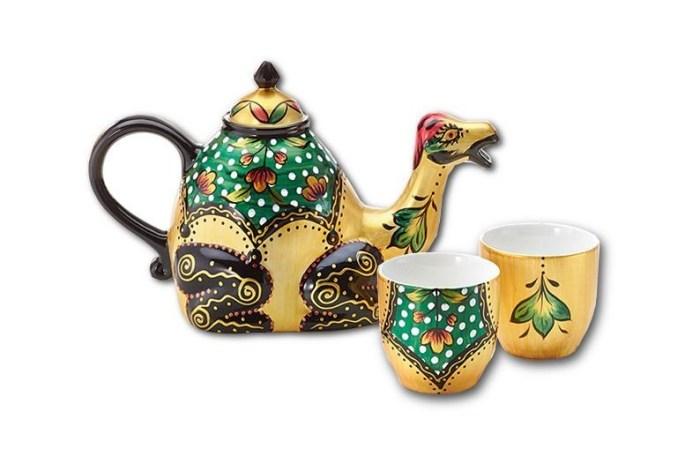 Juego de té Paseo por el Desierto Café Té Arte