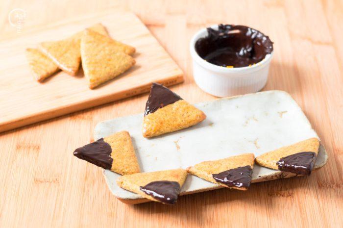 Galletas De Té Matcha Y Naranja Con Chocolate Cafetearteblog