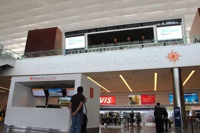 aeroporto Uruguai