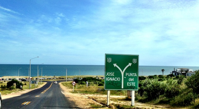 Porto Alegre a Punta del Este de Carro