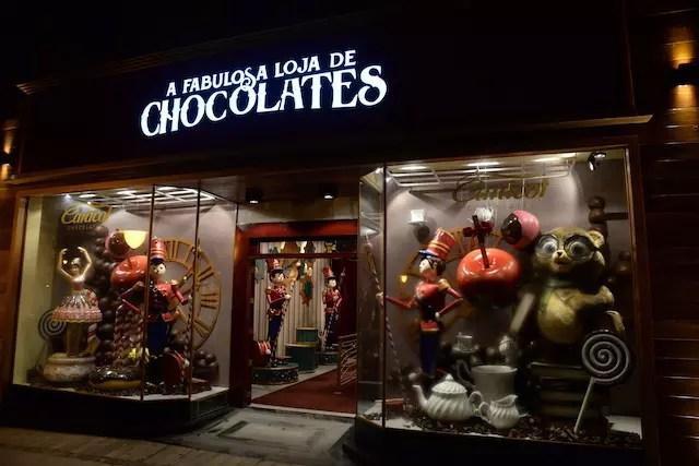 A Fabulosa Loja de Chocolate Caracol