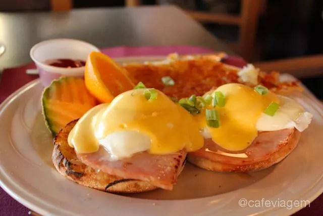 Eggs Benedict, sempre uma boa pedida!