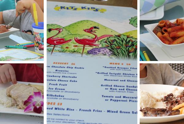 Facilidades no menu infantil: comidinha que agrada aos hóspedes brasileiros