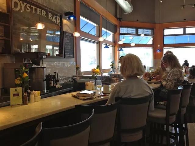 Oyster Bar - para ostras fresquinhas!