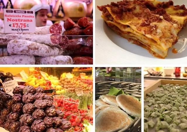 Emilia Romagna food