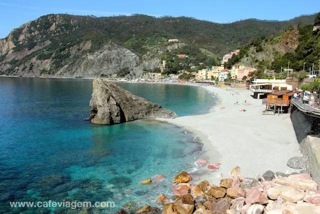 O lado de Monterosso al Mare - lin-do!!!!!!!!