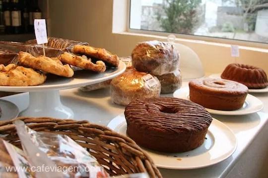 Pães e bolos orgânicos