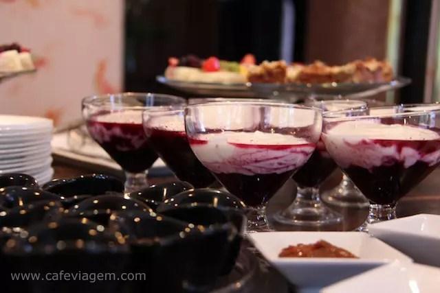 The Aubrey Hotel breakfast