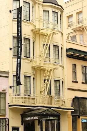 nosso hotel em São Francisco. Um B&B bem simpático!