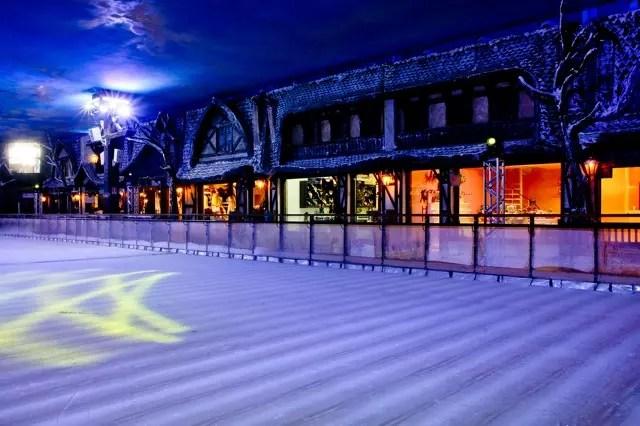 Lojinhas do parque. Foto divulgação Snowland (Igor Pires)