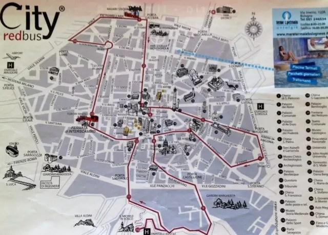 Fizemos grande parte do circuito do ônibus turístico de bike!
