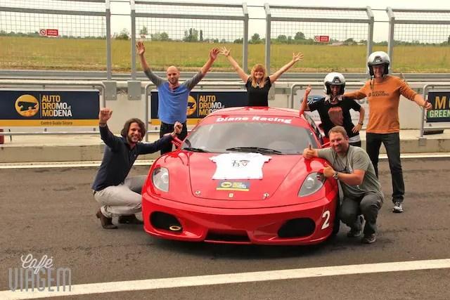 Nossa equipe de pilotos no final da manhã!!