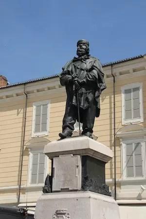 Piazza Garibaldi, o ponto de partida!