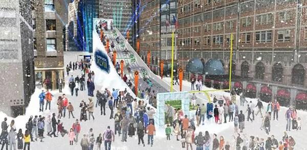Foto divulgação Super Bowl - imagem da suposta Boulevard