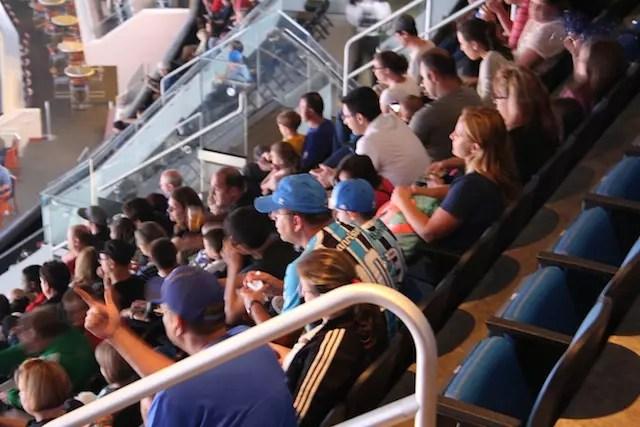 Camisetas do Grêmio no estádio: vimos umas 5!