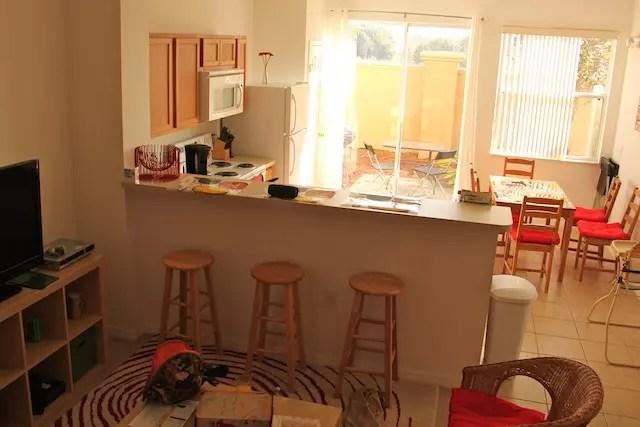 o astral da sala e cozinha