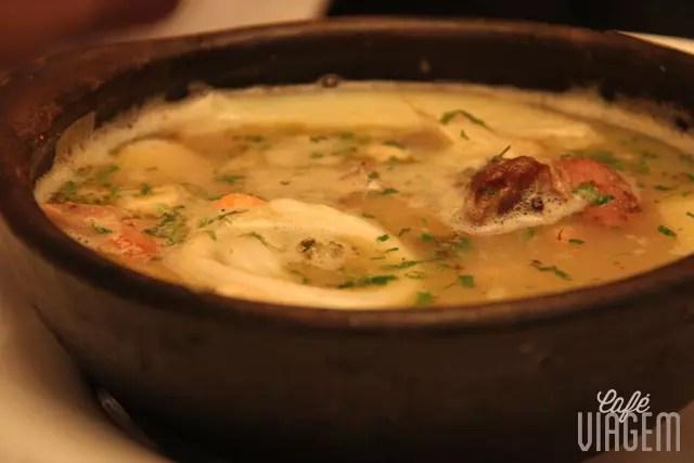 prato típico: sopa patagônica