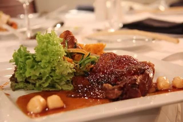 o delicioso pato do La Fourchette