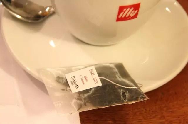 a delicadeza do saquinho de chá!