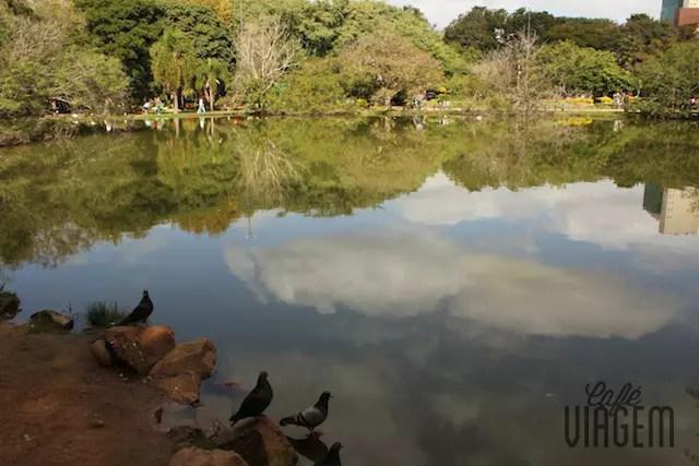 Parcão, o parque do bairro Moinhos de Vento