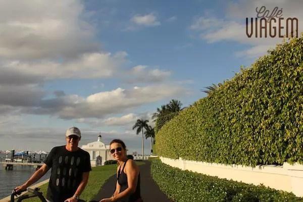Voltinha de bike por Palm Beach (Lake Trail - trilha do lago - recomendo o passeio!)