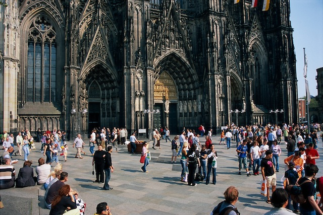 A imponente Catedral de Colônia. Foto ©Deutsche Zentrale für Tourismus e.V. (Kiedrowski, Rainer)