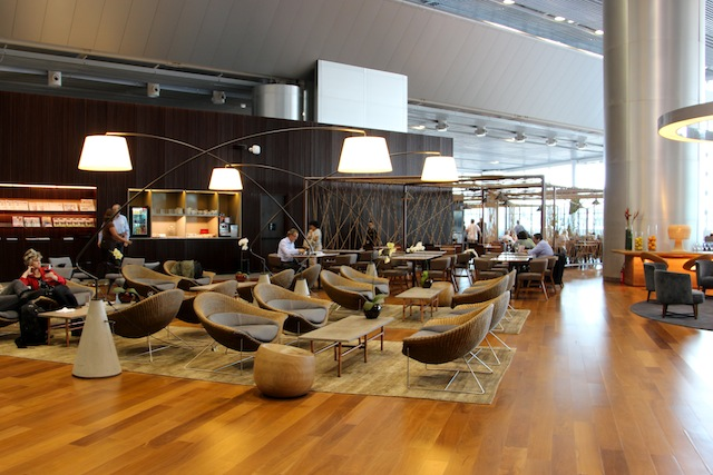 Lounge Star Alliance no Terminal 3