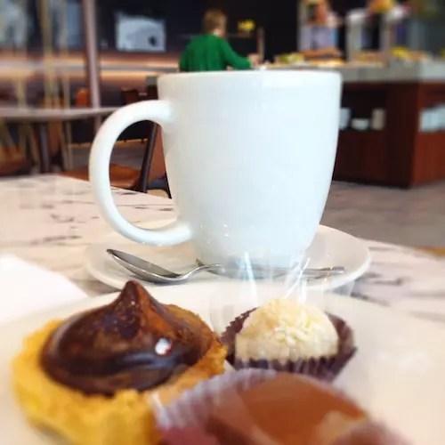 é claro que não podia faltar um cafezinho!