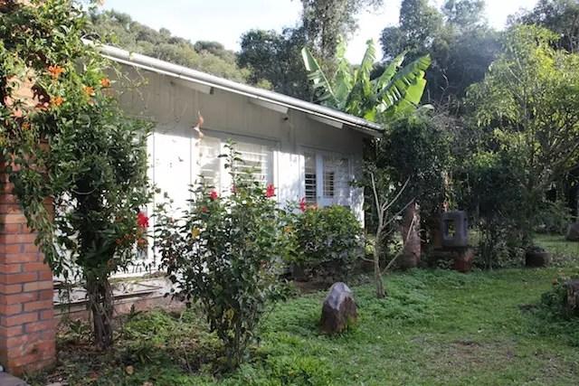 A casa e atelier de Bez Batti no Caminhos de Pedra - Bento Gonçalves