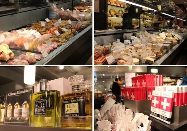 uma voltinha no supermercado da Globus depois da refeição...