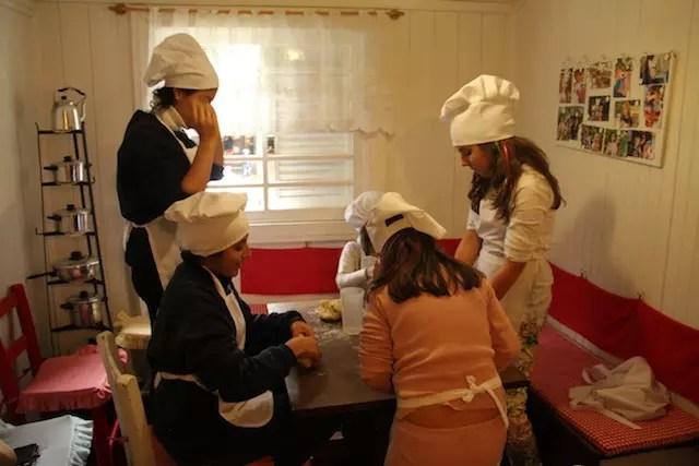 atividade da tarde na recreação: culinária