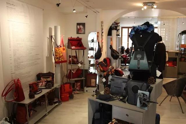 A loja da estilista Chris Maure