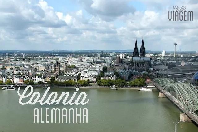 Visual de Colônia a partir da