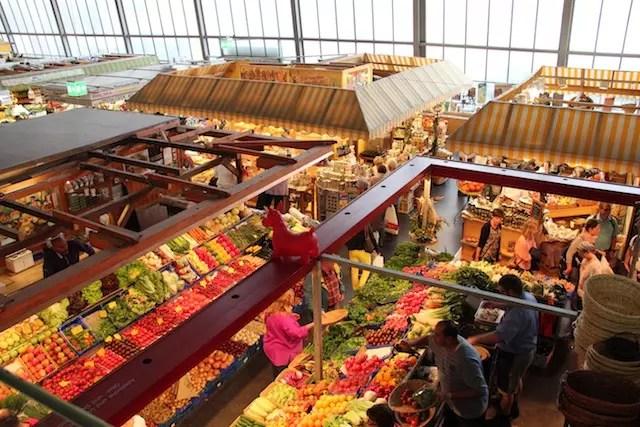 Kleinmarkethalle mercado de Frankfurt