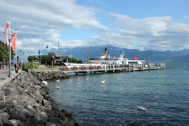 Lausanne, cidade que conta com o astral delicioso do às margens do Lago Léman