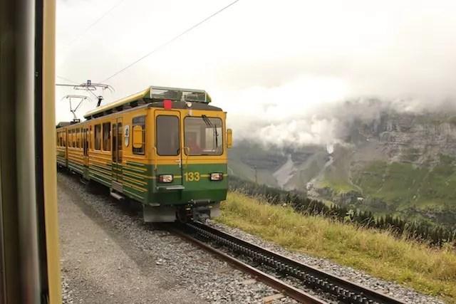 A caminho de Jungfrau