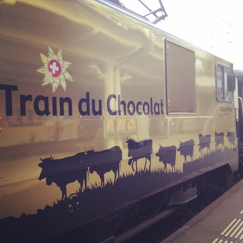 o tour no Trem do Chocolate