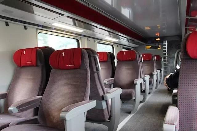 O conforto da primeira classe!!