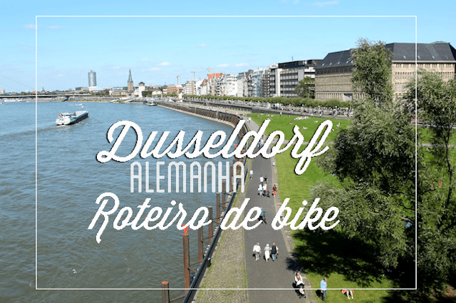 Dusseldorf by bike