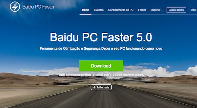 Baidu PC Faster d