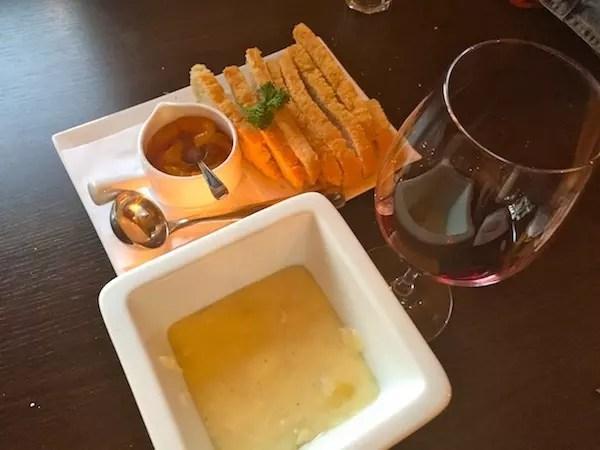 o fondue de brie, delicioso!
