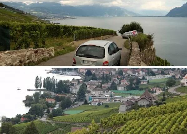 De carro pelas ruelas das vilas de Lavaux