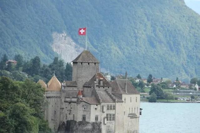 o castelo de Chillion