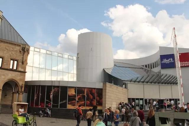 Se tiver interesse e tempo, no Dia 1 ainda dá para incluir o museu Lindt de chocolate que fic